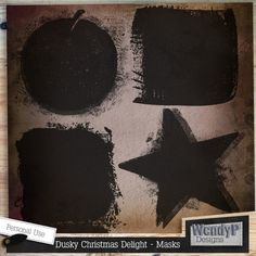 Dusky Christmas Delight - Masks :: Masks and Overlays :: Elements :: Memory Scraps