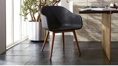 Venice Studio Black Task-Office Chair - Reception chair option - $299 - you could do 3 of them