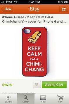 Hahahah cool phone case!