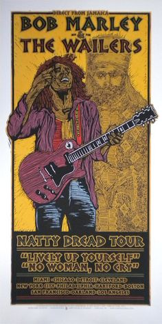 GigPosters.com - Bob Marley And The Wailers