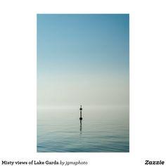 Póster Misty views of Lake Garda Lake Garda, Alps, Posters, Paper Envelopes, Poster, Billboard