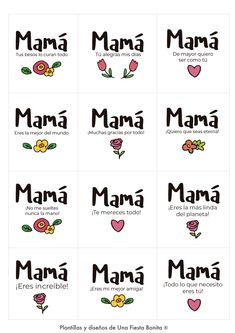 Etiquetas para imprimir Bullet Journal, Frases, Printable Tags, Free Printables, Sachets, Mothers, One Day, Thinking Of You