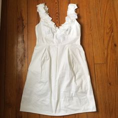 BCBGMAXAZRIA Kerry Dress. White. Size 4. NWT! BCBGMAXAZRIA Kerry Dress. White. Size 4. NWT! BCBGMaxAzria Dresses