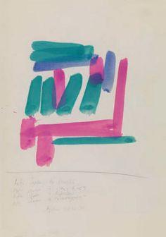 Ακριθάκης Αλέξης-Αυτό είναι το τοπείο.., 1990 Greek Art, Turin, Contemporary Artists, Greece, Composition, Abstract, Painting, Color, Design