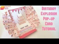 Pop Up Love Card - Happy Valentine's Day Card Step By Step Tutorial - YouTube