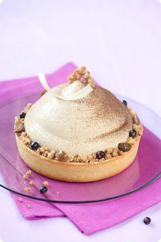 Verdade de sabor: Каштановый торт-мусс с чёрной смородиной / Torta m...