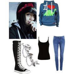 Untitled #99, created by scene-girl-foreva on Polyvore