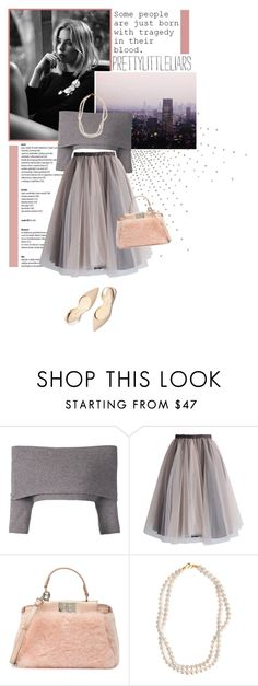 """""""Some people are just born with tragedy in their blood."""" by cafejulia ❤ liked on Polyvore featuring Dorothee Schumacher, Chicwish, Fendi, STELLA McCARTNEY, Børn, Paul Andrew, women's clothing, women's fashion, women and female"""
