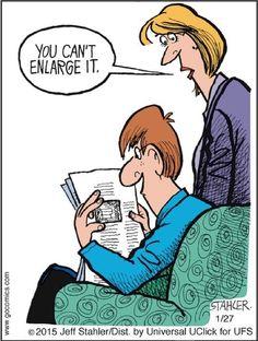 Great cartoon by Jeff Stahler. Via GoComics.