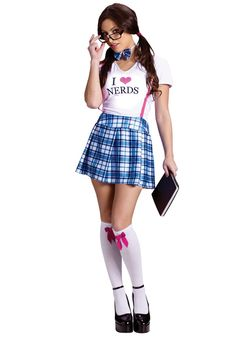 The sexy nerd costume. Now I've seen it all!