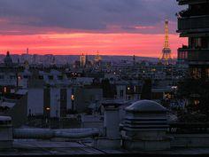 Longas noites de verão em Paris