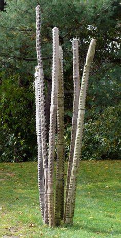 Outdoor Sculpture, African Posts