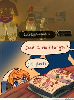 Found on - Zelda - Game's The Legend Of Zelda, Legend Of Zelda Memes, Legend Of Zelda Breath, Breath Of The Wild, Image Zelda, Geeks, Video Game Memes, Video Games, A Silent Voice