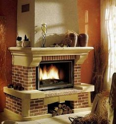 Мои закладки Home Fireplace, Fireplaces, Candles, Stove, Home Decor, Ideas, Log Burner, Home, Fire Places