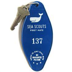 Secret Club Key Tags - Sea Scouts