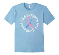 Men's SIDS Support And Awareness Pink Blue Ribbon T-shirt... https://www.amazon.com/dp/B01MZ6FGL1/ref=cm_sw_r_pi_dp_x_2MLBybNYDFSP2