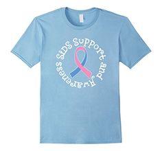 Men's SIDS Support And Awareness Pink Blue Ribbon T-shirt... https://www.amazon.com/dp/B01MZ6FGL1/ref=cm_sw_r_pi_dp_x_2MLBybNYDFSP2