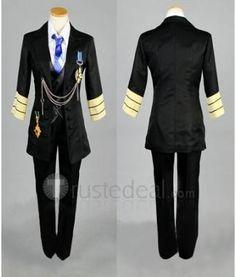 Uta no Prince-sama Tokiya Ichinose Black Cosplay Costume $109.99 - Anime Uta no Prince-sama Coasplay  - Trustedeal.com