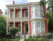The beautiful antebellum homes in the Garden District