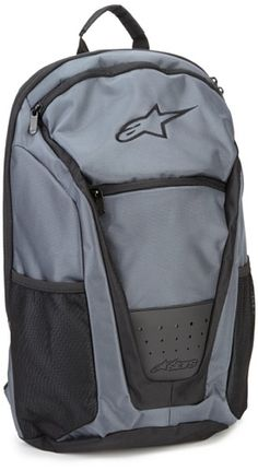 ALPINESTARS Mens Connection Backpack Grey Ballistic One Size >>> Continue to the product at the image link.
