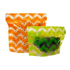 NEW Pack'Ems reusable snack packs! Pack'Ems are the perfect companion to your kids' lunch and on-the-go snacks, whether you're runnin. Reusable Sandwich Bags, Reusable Bags, Food Pack, Snack Bags, Kids Store, Food Storage Containers, Kids Bags, Cloth Bags, Orange