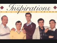 """The Inspirations sing """"The Filling Station"""" from their 1986 recording """"Tell It To A Friend.""""  Can anyone tell me what is missing from the picture on the album cover?"""