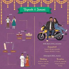 Cute And Trendy E Invitation Designs For The Intimate Weddings Illustrated Wedding Invitations, Indian Wedding Invitation Cards, Wedding Invitation Card Design, Wedding Party Invites, Creative Wedding Invitations, Digital Invitations, Custom Invitations, Wedding Gifts, Save The Date Pictures