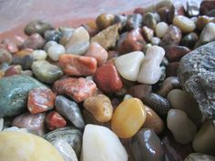 Gemstones rocks, and fossils found on the shores of Lake Huron