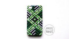 AFROOPRINTS   Phone case Wax African Prints I