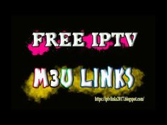 m3u playlist iptv 2019 best free channels list tv links gratuit - YouTube Free Playlist, Code Free, Movies Free, 1 Year, Channel, Coding, Tv, Link, Youtube