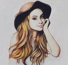 Drawing of Sabrina
