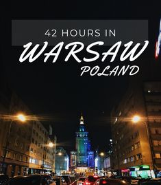 A CITY REVIEW : WARSAW  42 hours in Warsaw, Poland. Everything from the old town to the neon light museum.  #Warsaw #Poland #europe Warsaw Poland, Neon Lighting, Old Town, Old Things, Museum, Europe, City, Museums