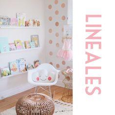 Repisas lineales ideales para esos libros !