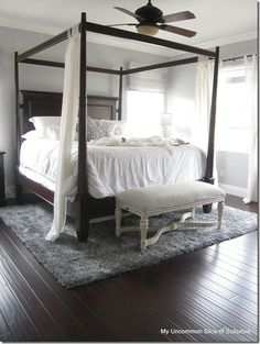 Our room, but brown instead of black and neutrals, maybe a change?