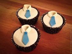 Feliz día dos pais! Cupcake dia dos pais