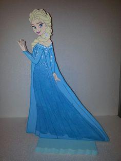 Elsa Frozen in foam