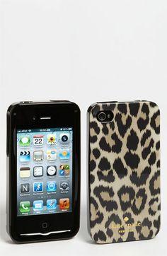 kate spade new york 'leopard ikat' iPhone 4 & 4S case | Nordstrom