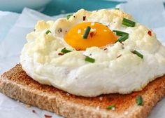 Pochierte Eier sind nach wir vor angesagt.Doch derneuste Food-Trend heißt – trommelwirbel –Cloud Eggs!So werden die luftig-leichten Eier-Wolken gemacht: