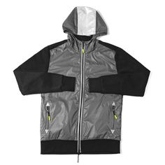 """@ICNYSport """"Shield Hooded Jacket"""" 
