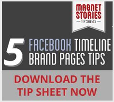 5 Facebook Timeline Brand Pages Tips