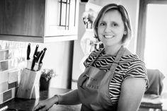 There ever delightful Clare Fenwick Hyde, chef at the Malvern Supper Club