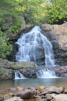 Hawk Falls, Hickory Run State Park (We jumped from the ledges of the waterfall into the upper pool!)