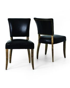 maura dining chair at horchow balboa side chair