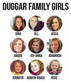 Need help telling the Duggars apart? Our Duggar family tree is the perfect visual guide to the ever-growing family. Celebrity Babies, Celebrity Couples, Duggar Family Tree, Familia Duggar, Duggar Pregnant, Joy Anna Duggar, Duggar Girls, Jeremy Vuolo, Shane Harper