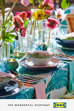 If you've got guests coming round for a garden visit or just fancy an evening meal on the balcony, grab some outdoor essentials. Think colourful outdoor tableware as well as lights, cushions, tablecloths and throws. Then simply fire up the BBQ, sit back on your patio and soak up some rays.