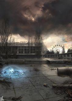 Pripyat by Bobrbor.deviantart.com on @DeviantArt