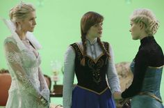 Snow Queen, Anna and Elsa