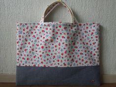 Lunch Bag 【ハンドメイド】ファミリア正規布使用 レッスンバッグ インテリア 雑貨 Handmade ¥2200yen 〆07月29日