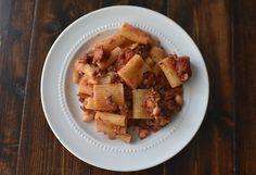 Rigatoni with Sweet Italian Sausage