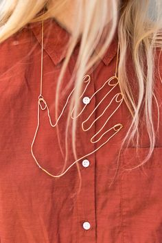 Inspired by a piece from Stella McCartney's spring 2018 collection, I'm sharing a DIY hand necklace that I may never take off again. It's also the first soldering DIY around here. So if you've always wanted to know how to use this illusive crafting tool, be sure to check it out. Click through for the …